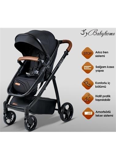 Baby Home Baby Home Gold 955 Vip Travel Sistem Bebek Arabası 600 Oyun Parkı Beşik Siyah